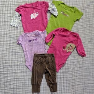 🌴3/$20🌴 5-Piece Baby Girl Set